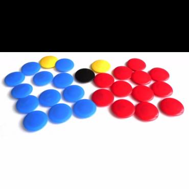 Reserve magneten voor het tactiekbord