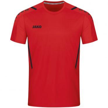JAKO T-shirt Challenge 4221 Rood Zwart